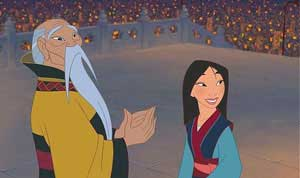 Ive Heard A Great Deal About You Mulan Stole Your Fathers Armor Ran Away From Home Impersonated Soldier Dishonored The Chinese Army